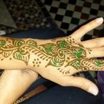 henné au riad jamai de la medina de fes
