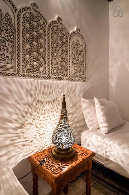 Riad Fez Chambre indigo