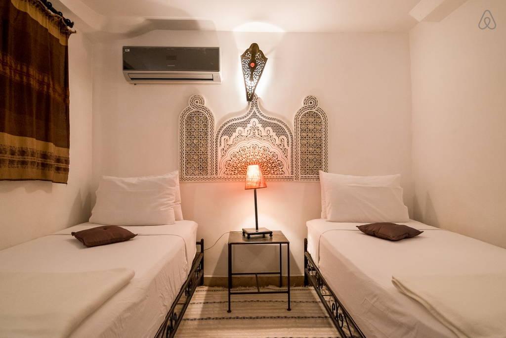 nuit dans la medina riad fes chambre