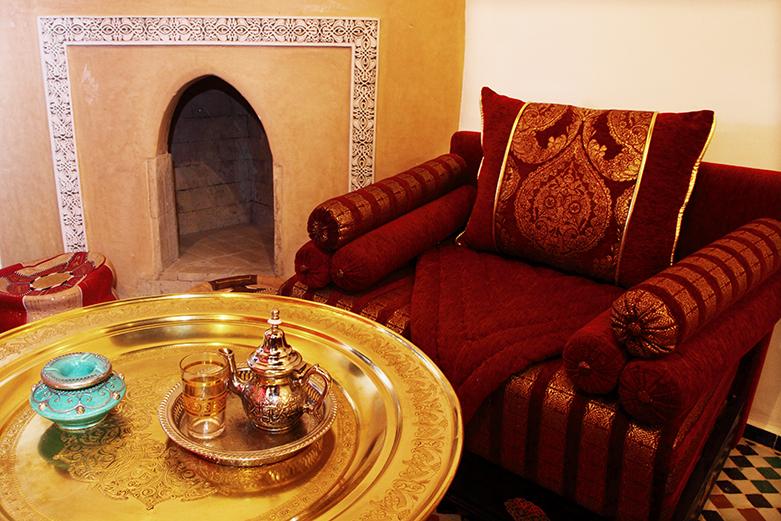 riad fes: maison d\'hotes dans le moyen atlas au nord du Maroc