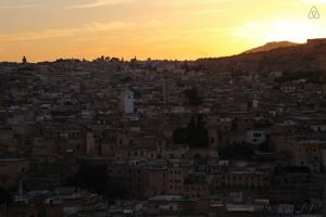 Riad Jamai coucher de soleil