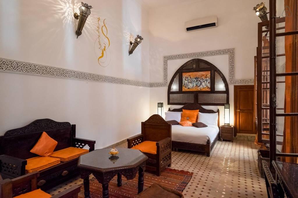 Ryad Fez suite safran