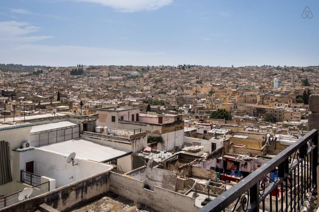 vue médina Riad Jamai: la ville de fes